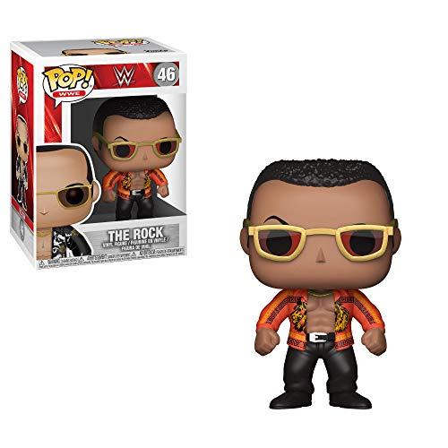 Funko Pop!- WWE The Rock Old School Figura de Vinilo (24824)