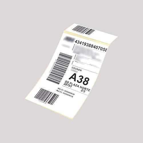 Etiquetas térmicas impresora Zebra | 10x15 cms | 1000 uds - Caja con 4 rollos de 250 uds