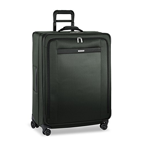 Briggs & Riley Transcend-Softside Expandable Large Checked Spinner Luggage, Rainforest, 29-Inch