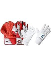 CW Guantes de cricket de diamante para mantener los humedecidos, guantes de protección de la mano, guantes de protección de la mano, guantes de protección para el cricket