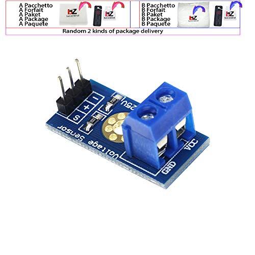 DC 0-25V Módulo de sensor de voltaje estándar Prueba de...