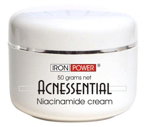 Acnessential Topische 4% Niacinamid Creme   Gel   Akne-Creme & Aknenarben-Entfernung – Vitamin B3 Creme