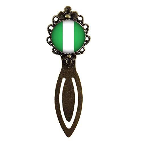 Xubu Bladwijzers voor Lezen Liefhebbers,Nigeriaanse Vlag Bladwijzers,Nationale Vlag Bladwijzers