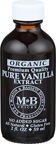 Morton & Basset, Vanilla Extract Pure Organic, 2 Fl Oz