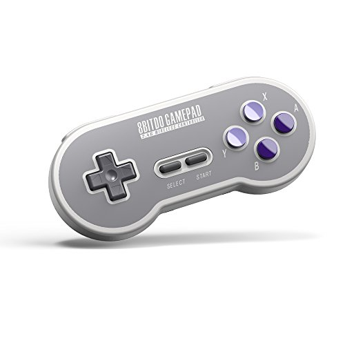 8Bitdo SN30 2.4G Wireless Controller for SNES Classic Edition (Electronic Games) [Importación inglesa]