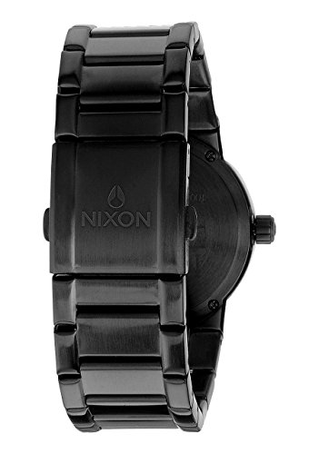 Nixon - A160001-00 - Montre Homme - Quartz Analogique - Bracelet Acier Inoxydable Noir