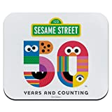 Sesame Street 50th Anniversary Logo Low Profile Thin Mouse Pad Mousepad