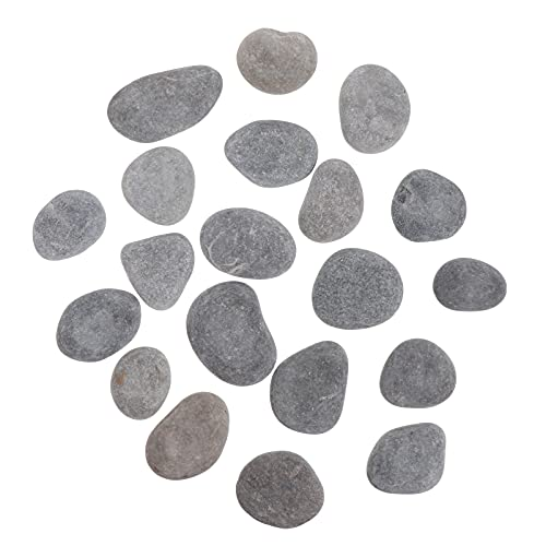 DOITOOL 1 Set Painting Rocks Stone for Kids DIY Painting Kindness Rocks Crafting Party Pack Bundle River Stones Cobblestone Rock Painting Arts