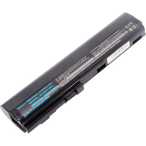ARyee 5200mAh 11.1V 2560P Batería para portátil Batería para HP EliteBook 2560p Serie 2570p, Apta para HP HSTNN-C48C HSTNN-C49C HSTNN-DB2L HSTNN-DB2M HSTNN-I08C HSTNN-I92C HSTNN-UB2K