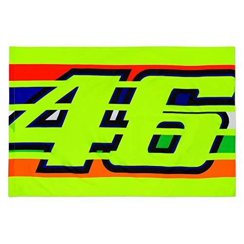 Vr46 Valentino Rossi Diseño de Rayas Bandera - Multicolor
