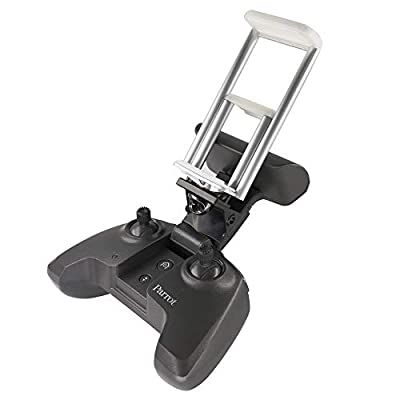 Kismaple ANAFI Controller Tablet Holder, Aluminum-Alloy Foldable Smartphone Tablet Mount Bracket Extended Stend Stand for Parrot Anafi Remote Controller Accessories