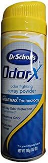 Dr. Scholls Odor X With Sweatmax Spray Powder 4.7 Ounce (139ml) (3 Pack)