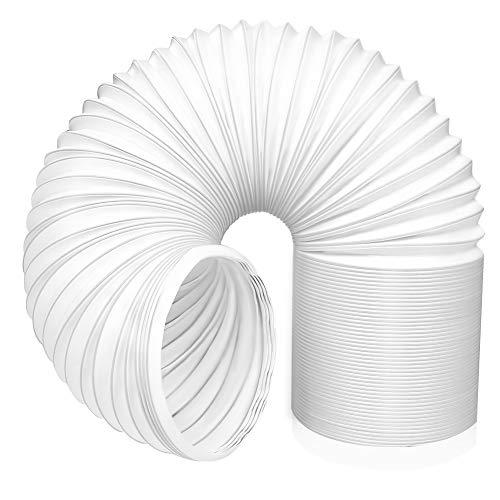 Aiboria Tubo di scarico aria,Tubo di scarico in PVC diametro 13cm, lunghezza 1.5 m Portatile Tubo Di Scarico Tubo Flessibile del Condizionatore d'Aria per impianti di climatizzazione,asciugatrici