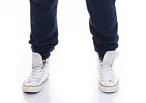 Gennadi Hoppe Herren Jumpsuit Slim Fit,blau - 6