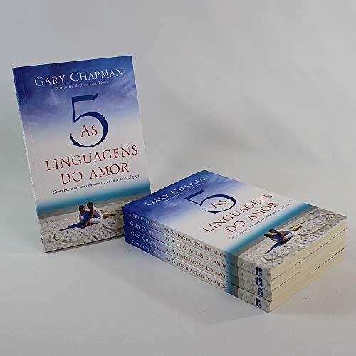 Kit 05 Livros | As Cinco Linguagens do Amor | Gary Chapman