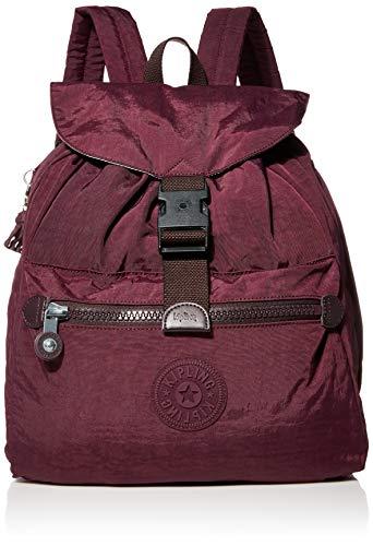 Kipling womens Keeper Medium Backpack, Dark Plum, One Size