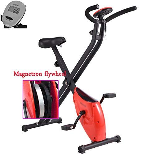 YUESFZ Bicicletas estáticas Spinning Bicicleta Elíptica Bicicletas Giratorias Ultra Silenciosas para Uso Doméstico Equipamiento Deportivo Magnetrón De Interior Mini Pedal De Dormitorio Plegable