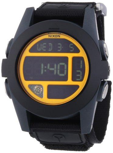 Nixon A4891323-00 - Orologio da polso uomo, nylon, colore: nero