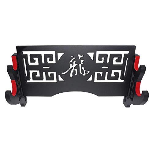 axaya Support mural pour épée de samouraï - Motif creux pour Katana et épées standard - 2...