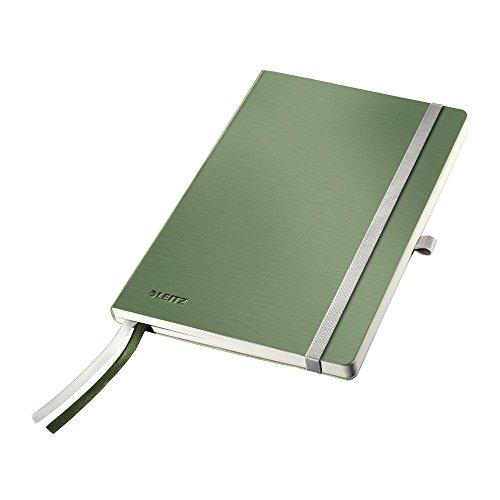 Leitz 44880053 Notizbuch Style Notizbuch Style, weicher Einband, A5, kariert, seladon-grün