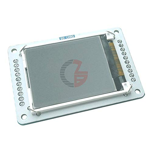 DC 5V 128x160 1.8' TFT LCD Screen Display Shield Module with MicroSD Card Slot SPI Serial Interface for Arduino Robot Esplora