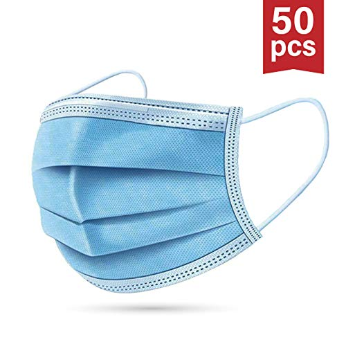 50 x Einwegmasken | Mundschutz | Mundschutzmaske | Versand aus DE