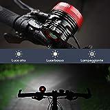 Zoom IMG-1 ghb faro per bici 9led