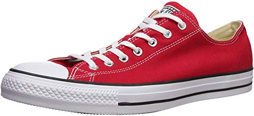 Converse Unisex Chuck Taylor All Star Ox Basketball Shoe (6 D(M) US Men / 8 B(M) US Women, Red)