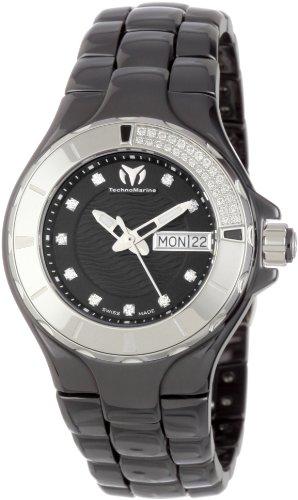 TechnoMarine Women's 110027C Cruise Ceramic 36mm Watch