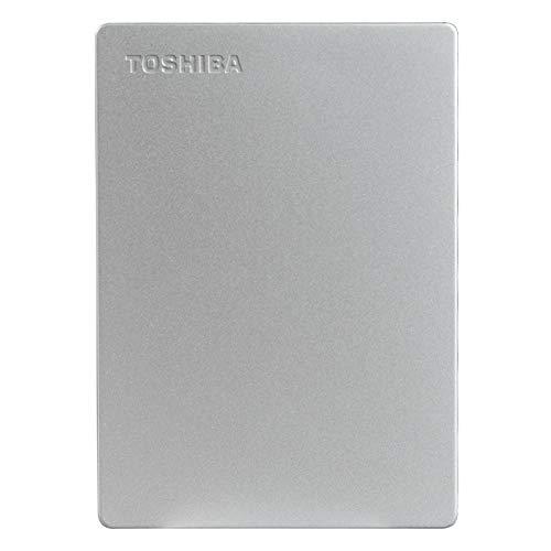 Toshiba Canvio Slim 1TB USB 3.0 External Hard Drive (Silver)