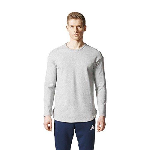 adidas Herren Tango Future Sweatshirt, Mgreyh, S