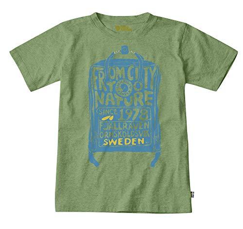FJALLRAVEN Kånken Kids T-Shirt Unisexe pour Enfant XL Fougère (Fern)