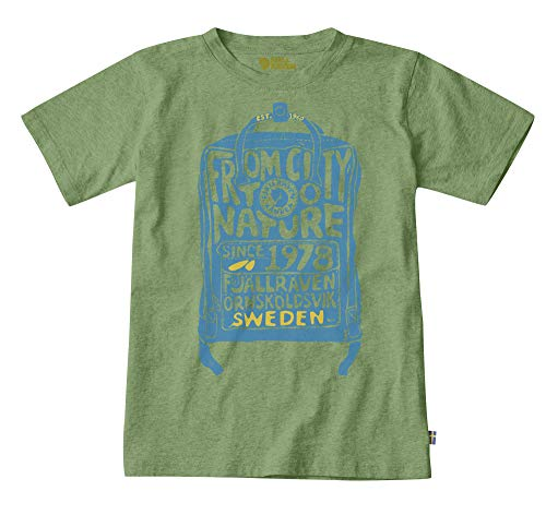 FJALLRAVEN Unisex-Kinder Kånken Kids T-Shirt Hemd, Farn, 12/13 años