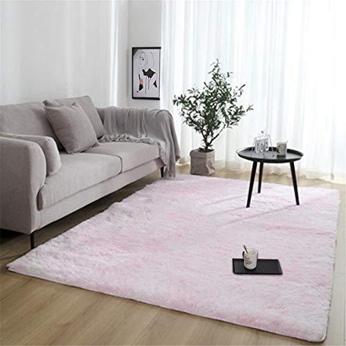 Rugs Fluffy tapijt, antislip, dik plafond van Zona voor woonkamerdecoratie, rechthoekig, 80 x 200 cm