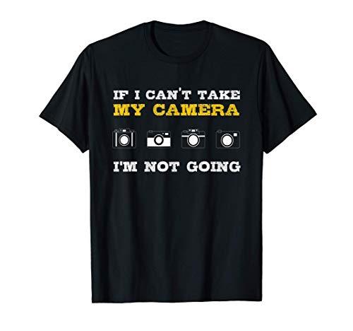 My Camera I Fotógrafo Cámara Fotografía Lente de Fotografía Camiseta