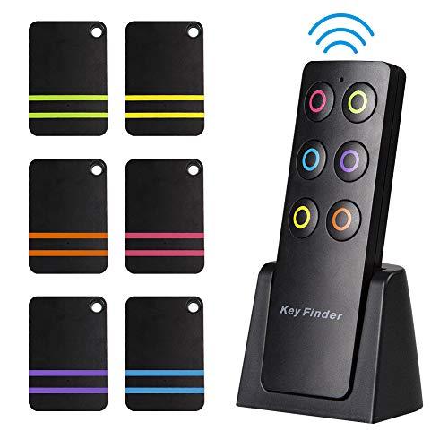 Schlüsselfinder, Innoo Tech Wireless Key Finder mit 6 Empfängern, RF Item Locator, Item Tracker, Support Fernbedienung, Haustier Tracker, Wallet Tracker, Gute Idee für Ihre verlorenen Gegenstände