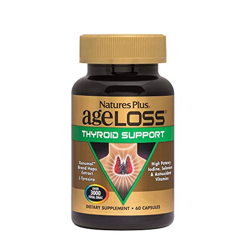Nature's Plus AgeLoss Thyroid Support - Vegetarian Capsules 60 - Gluten Free