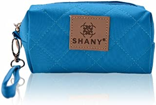 Shany Cosmetics Limited Edition Mini Tote Bag And Travel Makeup Bag, Ocean Blue