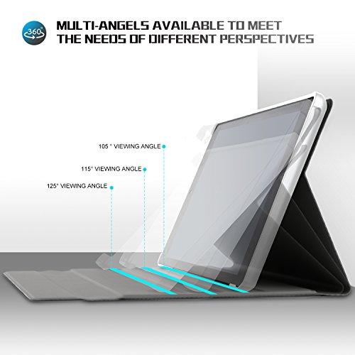IVSO Tastatur Hülle für Huawei MediaPad M5 10.8, [Deutsches QWERTZ-Layout] Keyboard Case für Huawei MediaPad M5 10.8 Pro / M5 10.8 Zoll 2018 Modell,Rosegold - 4