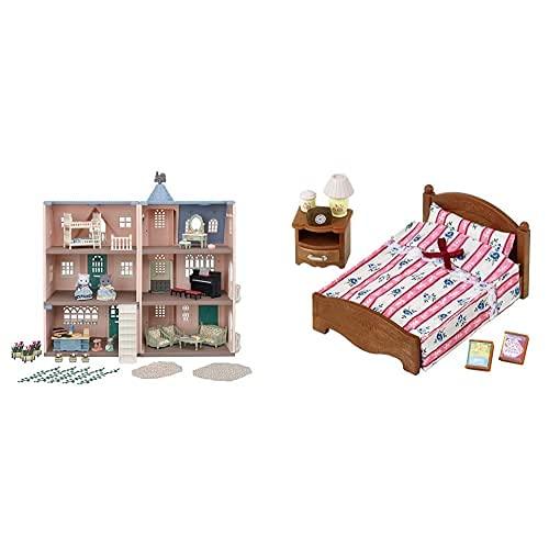 SYLVANIAN FAMILIES - Deluxe Celebration Home Premium Set, Color (Epoch 5504)+ - 5019 - Set Cama Doble