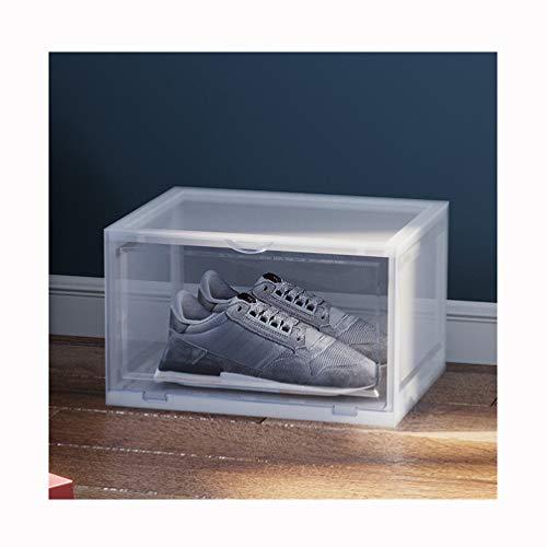 NAXIAOTIAO La Caja De Zapatos, Zapato Bastidores Pequeña Caja De Plástico Transparente...