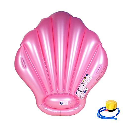 Aufblasbares Schwimmendes Bett,Aufblasbare Shell Luftmatratze, des Sommers Aufblasbare Spielzeuge,Sommer Outdoor Beach Party,Strand,Spielzeug für Erwachsene und Kinder