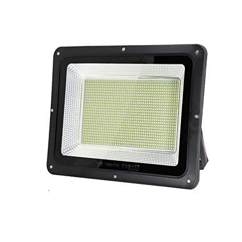 HviLit Luz de inundación LED superbrillante 850W Luz blanca 6000K Luz de seguridad LED for exteriores IP66 Luz de inundación a prueba de agua Focos a prueba de lluvia for jardín Garajes Garajes Almacé