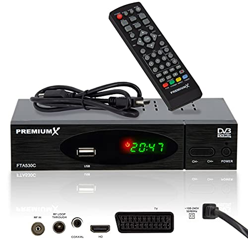 PremiumX Kabel Receiver FTA 530C Bild