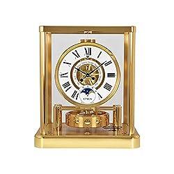 Jaeger LeCoultre Atmos Classique Phases De Lune White Dial Clock Q5111202
