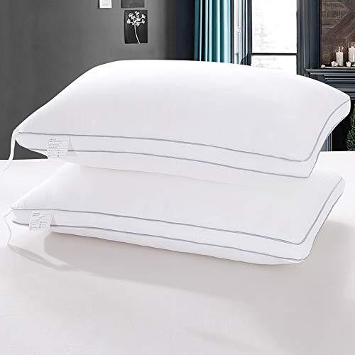 Kissmoon Pillows 2 Pack, Luxury Firm Hotel Pillows Down Alternative...