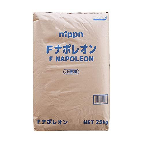 【mamapan】準強力粉 Fナポレオン フランスパン用小麦粉 ニップン 業務用 25kg__【沖縄は別途追加送料必要】