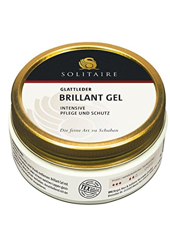 Solitaire brillant Gel schwarz Schuhcreme & Pflegeprodukte, Schwarz (Schwarz) 100.00 ml