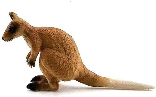 YsKYCA Statuetta,Ornamenti Statue E Figurine Orso Da Giardino Scimmia Canguro Modello Animale Bambola Casa Fiaba In Miniatura Accessori Da Giardino Giocattolo Piccolo Canguro