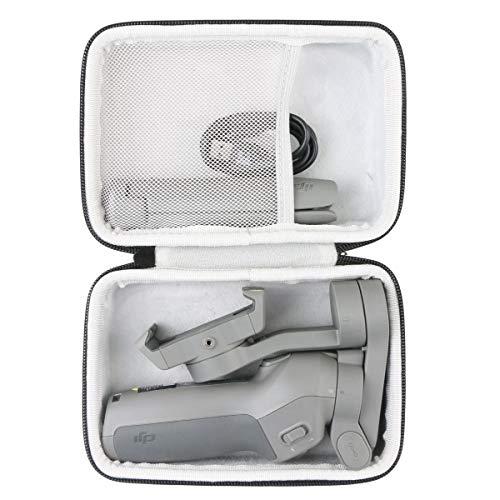 Khanka Hard Travel Case Replacement for DJI OSMO Mobile 3 Lightweight Portable Handheld Gimbal Stabilizer (Black)